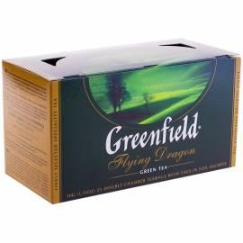 """Чай Greenfield """"Flying Dragon"""", зеленый, 25 фольг. пакетиков по 2г"""