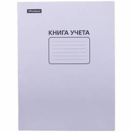 Книга учёта OfficeSpace, А4, 60л., клетка, мелованный картон, блок офсет