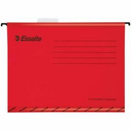 "Подвесная папка Esselte ""Pendaflex Plus Foolscap"", 240*412мм, картон, 210г/м2, красная"