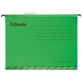 """Подвесная папка Esselte """"Pendaflex Plus Foolscap"""", 240*412мм, картон, 210г/м2, зеленая"""