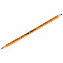 Карандаш двухцветный Koh-I-Noor, синий-красный
