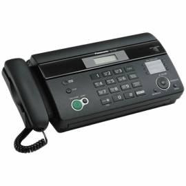 Факс на термобумаге Panasonic KX-FT982RUB, А4, АОН, спикерфон, автодозвон, 100 номеров, черный
