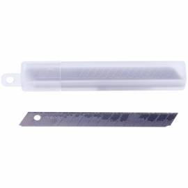 Лезвия для канцелярских ножей Berlingo, 9мм, 10шт., в пластиковом пенале