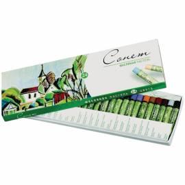 Пастель масляная Сонет, 24 цвета, картон. упак.