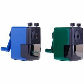 Точилка механическая Berlingo, цвета в асс., пласт. корпус, инд. упак.