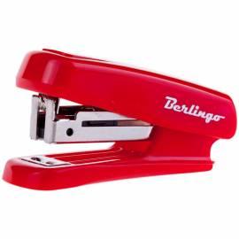 Мини-степлер №10 Berlingo до 10л., пластиковый корпус, ассорти