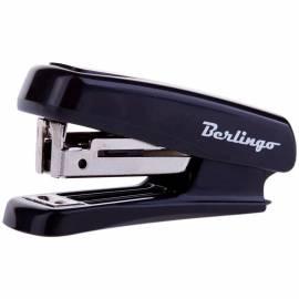Мини-степлер №10 Berlingo до 10л., пластиковый корпус, черный