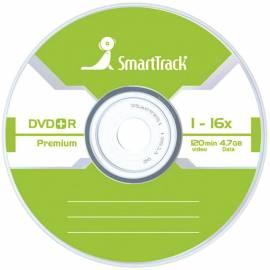 Диск DVD+R 4.7Gb Smart Track 16x Slim