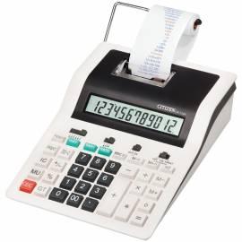 Калькулятор печатающий Citizen CX-123N, 12 разрядов, 180*255*61 мм, 2-цветная печать, ЖК дисплей