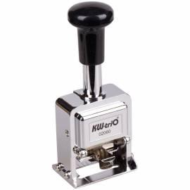Нумератор автомат KW-trio, 4,8мм, 6 разрядов, металл