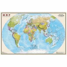 """Карта """"Мир"""" политическая DMB, 1:35млн., 900*580мм, матовая ламинация"""