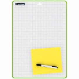 Доска для рисования с маркером двухсторонняя Centropen, А4