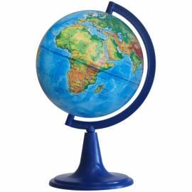 Глобус физический Глобусный мир, 12см, на круглой подставке