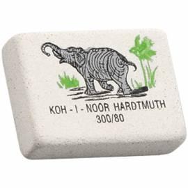 """Ластик Koh-I-Noor """"Elephant"""" 300/80, прямоугольный, натуральный каучук, 26*18*8мм"""