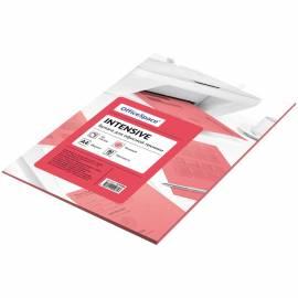 Бумага цветная OfficeSpace intensive А4, 80г/м2, 50л. (розовый)