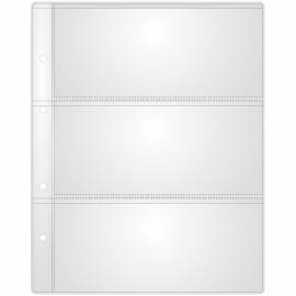"Лист для альбома OfficeSpace ""Optima"" на 3 боны 185*80, 120мкм"