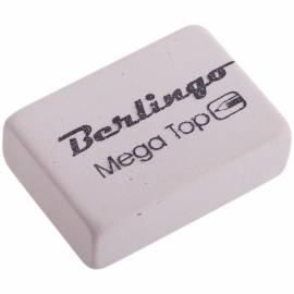 """Ластик Berlingo """"Mega Top"""", прямоугольный, натуральный каучук, 26*18*8мм"""