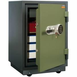 Сейф огнестойкий Valberg FRS-66T EL (замки: ключ + эл/код) класс 60Б