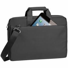 """Сумка для ноутбука 15,6"""" RivaCase 8231, полиэстер, черный, 385*265*45мм"""