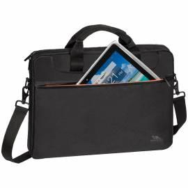 """Сумка для ноутбука 15,6"""" RivaCase 8033, полиэстер, черный, 370*280*45мм"""
