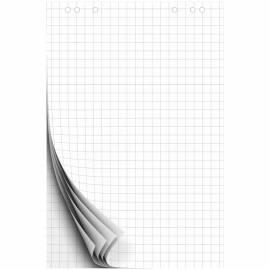 Блокнот для флипчарта OfficeSpace 67,5*98см, 20л., клетка