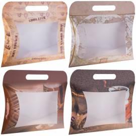 """Упаковка подарочная Принт Торг """"Сумочки"""", 24*29*5,6 см, набор 4 мужских дизайна по 5шт."""