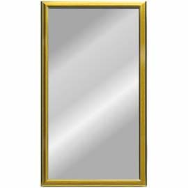 Зеркало настенное прямоугольное, 400*800, багет золото