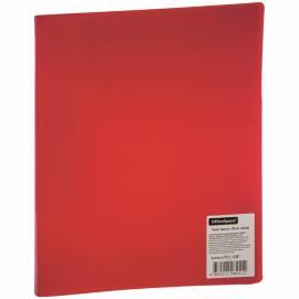 Папка с зажимом OfficeSpace, 20мм, 400мкм, красная