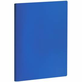Папка с зажимом OfficeSpace, 20мм, 400мкм, синяя