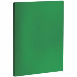 Папка с пружинным cкоросшивателем OfficeSpace, 20мм, 400мкм, зеленая