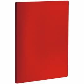 Папка с пружинным cкоросшивателем OfficeSpace, 20мм, 400мкм, красная