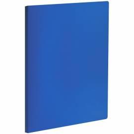 Папка с пружинным cкоросшивателем OfficeSpace, 20мм, 400мкм, синяя