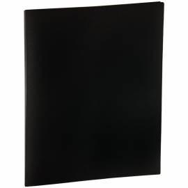 Папка с пружинным cкоросшивателем OfficeSpace, 20мм, 400мкм, черная