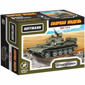 "Модель для сборки Hoffmann ""Танк T-55A"", масштаб 1:72"