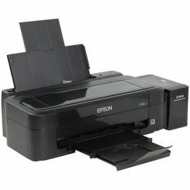 Принтер струйный Epson L132 (A4, 27/15ppm, 5760*1440dpi, 4цв., USB)