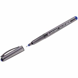 "Ручка-роллер Centropen ""4665"" синяя, 0,7мм, трехгран., одноразовая"