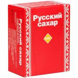 Сахар-рафинад Русский сахар, 0,5кг, картонная каробка