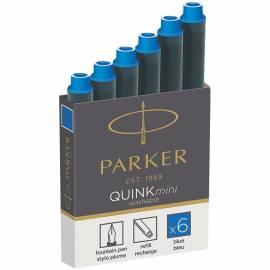 """Картриджи чернильные Parker """"Cartridge Quink Mini"""" синие, 6шт."""