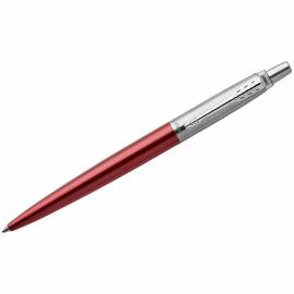 """Ручка шариковая Parker """"Jotter Kensington Red CT"""" синяя, 1,0мм, кнопочн., подар. уп."""