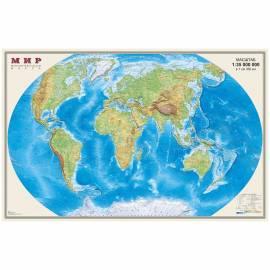 """Карта """"Мир"""" физическая DMB, 1:35млн., 900*580мм"""