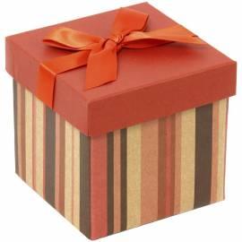 "Коробка-трансформер подарочная Veld-co ""Полосочки"", 10,3*10,3*9,8 см"