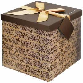 """Коробка-трансформер подарочная Veld-co """"Вензеля"""", 25,5*25,5*25 см"""