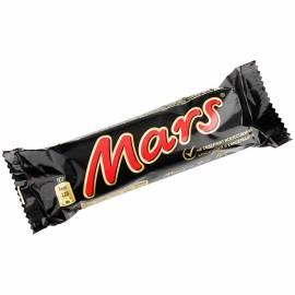 Шоколадный батончик Mars, молочный шоколад, 50г
