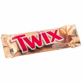 Шоколадный батончик Twix, молочный шоколад, 55г