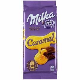 """Шоколад Milka """"Карамель"""", 90г"""