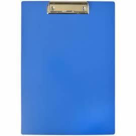 Планшет с зажимом OfficeSpace А4, пластик, синий