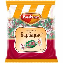 "Карамель леденцовая РотФронт ""Барбарис"", 250г, пакет"