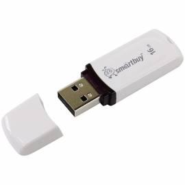 """Память Smart Buy """"Paean"""" 16GB, USB 2.0 Flash Drive, белый"""