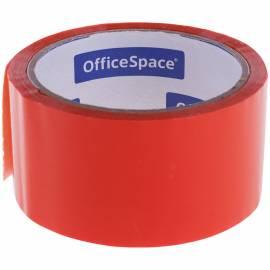Клейкая лента упаковочная OfficeSpace, 48мм*40м, 45мкм, оранжевая, ШК
