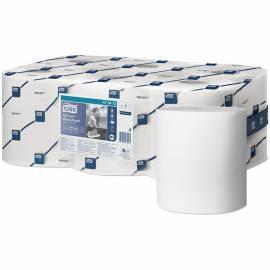 "Протирочная бумага в рулонах Tork ""Reflex""(M4) ЦВ, 1 слойн., 111,3м/рул, белый, 6шт."